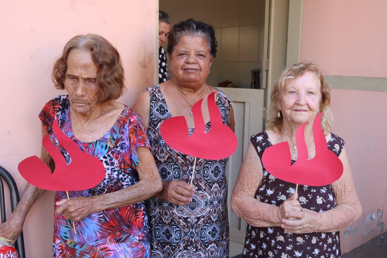 Campanha beneficente ao Lar Vicentino de Monte Aprazível.