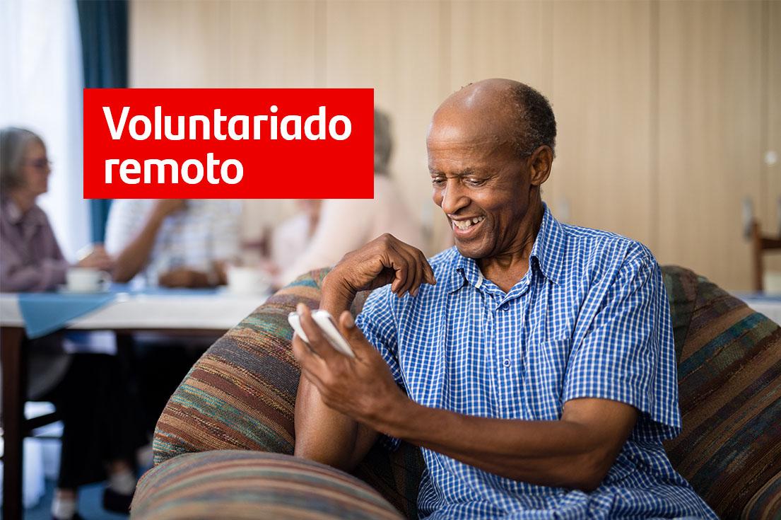 Voluntariado remoto - Ação de Socialização com idosos