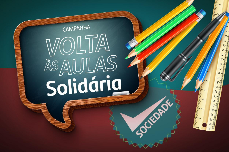 Campanha Volta às Aulas Solidárias