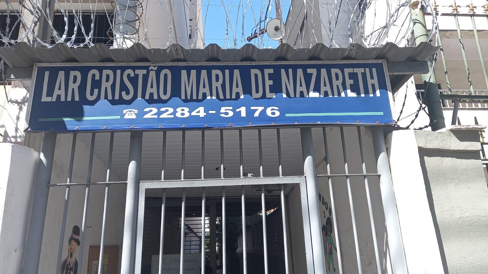 DOAÇÃO DE COBERTORES E AGASALHOS PARA O LAR CRISTAO MARIA DE NAZARETH